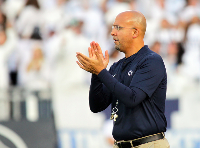 Penn State Football Slides To No. 20 In College Football Playoff Rankings